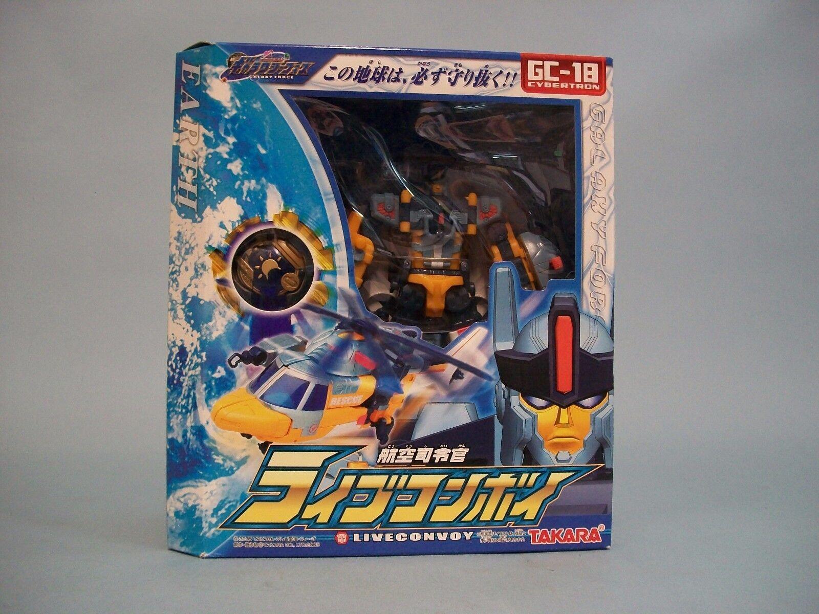 Takara Galaxy Force GC-18 Cybertron Liveconvoy Transformers
