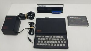 Sinclair-ZX-81-with-Memopack-16K-PSU-and-tape-039-the-organiser-039-Keyboard-Prob
