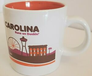 South Carolina Runs On Dunkin Donuts Destination Coffee Mug Limited Edition 2013