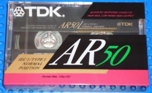 II   BLANK CASSETTE TAPE 1 TDK  AR    50  VS SEALED