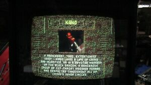 Used-Midway-Mortal-Kombat-Jamma-Arcade-Game-Board-Tested-Works-Lines-in-Video