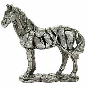 "Large 10/"" Horse Pony ornament sculpture figurine Leonardo Natural World gift box"