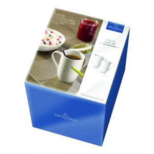Villeroy-amp-Boch-039-For-Me-weiss-039-Kaffeebecher-Set-2-Stueck
