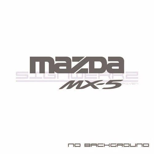 Mazda MX-5 Decal Sticker JDM MX5 miata rotary engine go kart racing MX5 CUP Pair