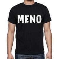 Meno Tshirt, Homme Tshirt, Col Rond Homme T-shirt, Noir, Cadeau