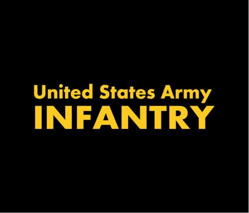 US ARMY INFANTRY Autocollant Vinyle Voiture Fenêtre Autocollant