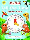 Tell The Time Sticker Chart 178296049x Autumn Publishing Ltd 2015 Wallchart