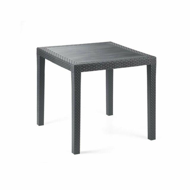 Tavoli Da Giardino Pieghevoli Plastica.1567023 Relaxdays Tavolo Da Giardino Pieghevole In Plastica