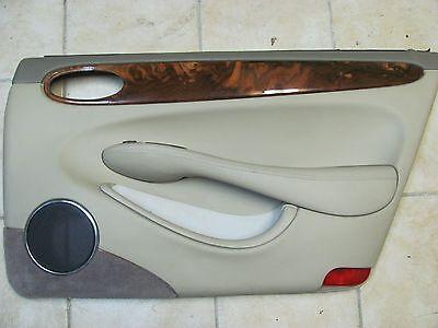 JAGUAR XJ8 RIGHT REAR DOOR POCKET STORAGE AGD GRAY 1998 1999 2000 2001 2002 2003