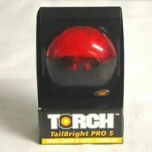 » Torch Tail Bright Pro 5 LED Rear Red Light 3 Mode Seat Post Mount Lamp