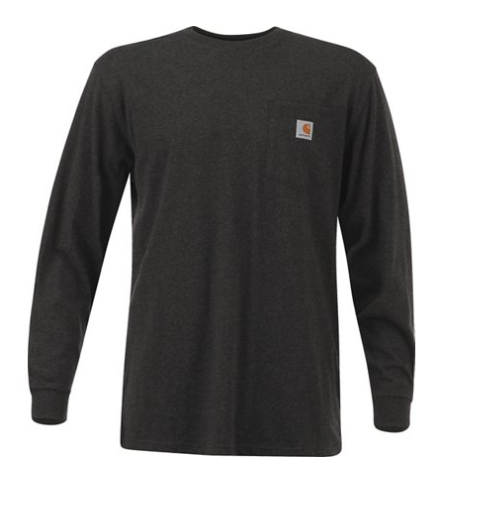 good service classic style available Carhartt K126 Men's Workwear Pocket Long Sleeve T-Shirt Midweight NEW L  thru 2XL