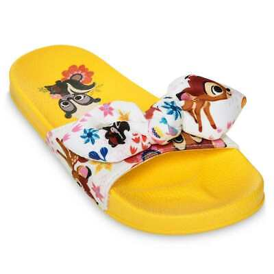 DISNEY BAMBI KIDS SLIDES SIZE 5//6 7//8 9//10 11//12 13//1 NEW!