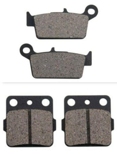 Carbon Break Pad Set TB2 HONDA CR80RB 1996–2002 Tusk Front /& Rear Brake Pads