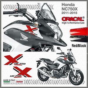 2x-ADESIVI-Rosso-Nero-compatibile-con-Honda-NC-750-X-2011-2015-moto-NC750