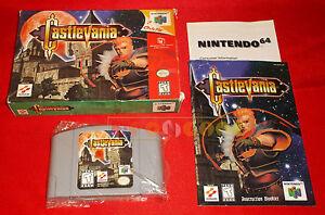 CASTLEVANIA-Nintendo-64-N64-Versione-NTSC-Americana-COMPLETO