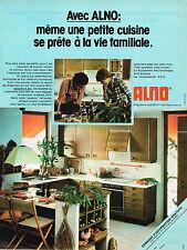 PUBLICITE ADVERTISING 025  1978  ALNO  cuisines ALNOSOFT