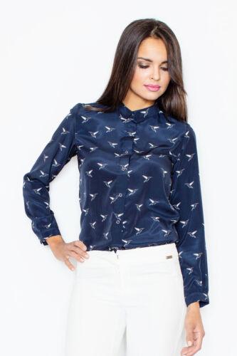 FIGL Damen Shirt Navy