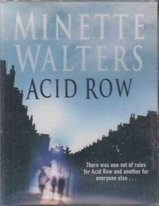Acid-Row-Minette-Walters-4-Cassette-Audio-Book-NEW-Abridged-Thriller-FASTPOST