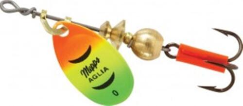 Mepps Aglia Spinner Spinnerbait Fishing Lure Hot Firetiger Choice of Sizes NEW