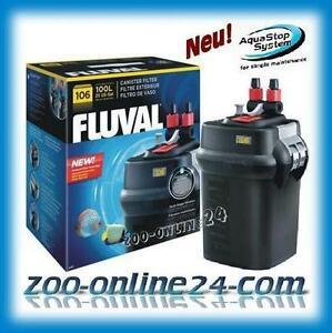 fluval 106 aquarium au en filter bis 100 liter a 202 vorher 104 105 ebay. Black Bedroom Furniture Sets. Home Design Ideas