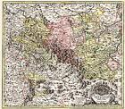 Historische Karte: Fürstentum Eisenach 1716 (Plano) von Johann Baptist Homann (1999, Mappe)