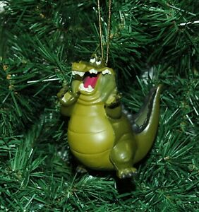 Louis The Alligator The Princess and the Frog Christmas Ornament