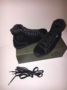 Black Day Maharishi Top Shoes Womens High Sheepskin 1wqXrvxq5