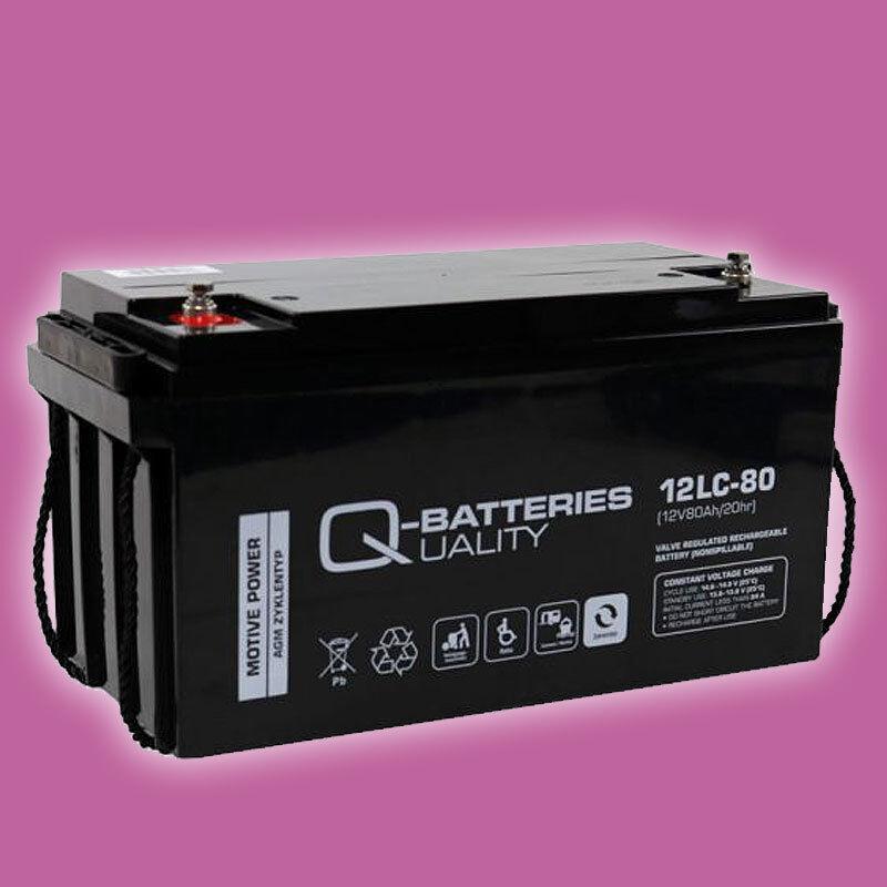 Blei AGM Akku 12V 80Ah 40lbs für Haswing Elektro Außenborder 40lbs 80Ah  Osapian 40 2893d5