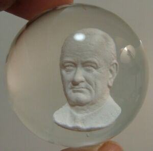 Marbles-Vintage-HTF-Joe-St-Clair-Sulphide-LBJ-Lyndon-B-Johnson-Bust-2-010