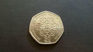 Rare Fifty Pence 50p Coin-Largest Collection Kew Gardens Judo Triathlon /& others