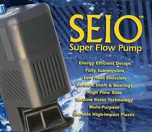 TAAM-Seio-620-M620-Super-Aquarium-Water-Flow-Pump-Powerhead-620-gph-NIB