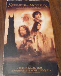 VHS-Movie-Le-Seigneur-des-Anneaux-Les-Deux-Tours-Lord-of-the-Rings
