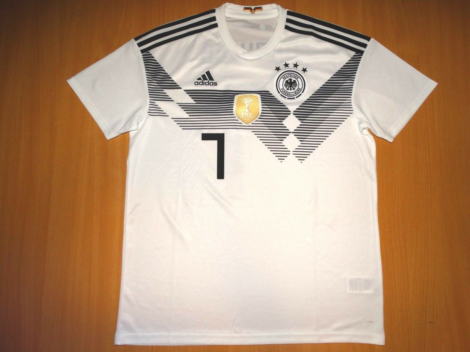 NEU GERMANY GERMANY GERMANY Deutschland  7 DRAXLER 2018 2019 HOME Adidas L shirt TRIKOT ORGINAL 078a57