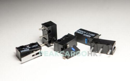 Interruptor básico Ultra Subminiatura microinterruptores Ratón Logitech Razer SteelSeries