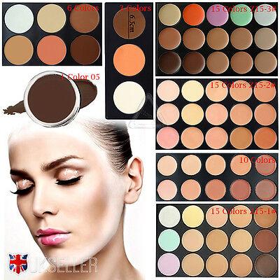 UK Professional Concealer Palette Kit Face Makeup Contour Cream Without Brush