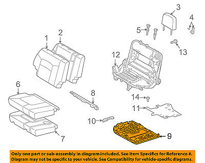 Toyota Genuine 72928-60100-B0 Seat Cushion Cover