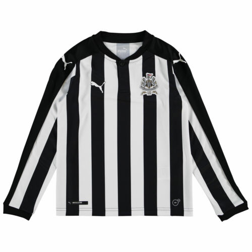 Newcastle United Football Home Jersey Shirt Tee Top 2017//18 enfants à manches longues