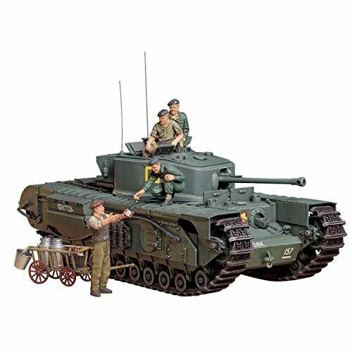 Tamiya British Infantry Tank Mk.IV Churchill Mk.VII 1:35 Scale Model Military Mi