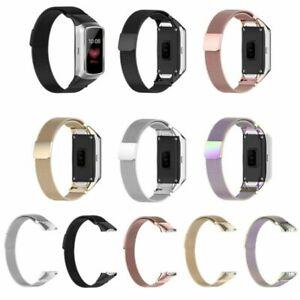 Fuer-Samsung-Galaxy-Fit-SM-R370-Uhr-Mailaender-Edelstahl-Armband-Ersatz-Uhr-Strap
