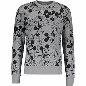 Grey 65 Iceberg Sweater katoen Mouse 100 korting Xl Mickey Sweater x7x5EZwr