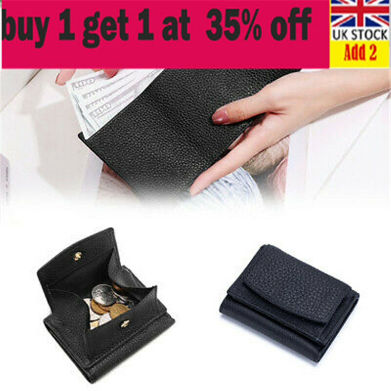 Womens Genuine Leather Small Wallet with Mini Coin Pocket Fashion Designer bg