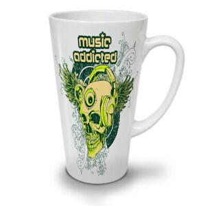 Addicted Skeleton Skull NEW White Tea Coffee Latte Mug 12 17 oz   Wellcoda