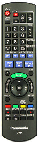 Genuine Panasonic DVD Recorder Remote Control For DMR-EX768EB DMR-EX768