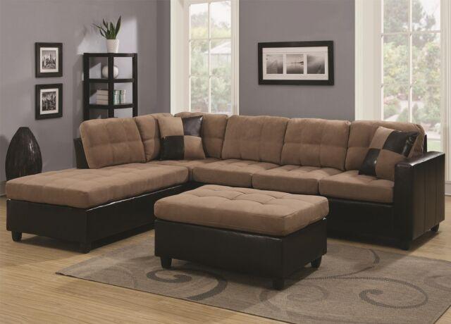 Savannah Tan Microfiber Chaise Lounge