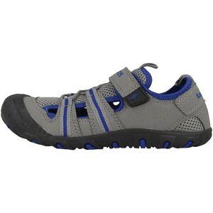 Kangaroos Kangaspeed X4 Chaussures Pour Enfants Sandale Sneaker Grey Blue 16073-231-afficher Le Titre D'origine