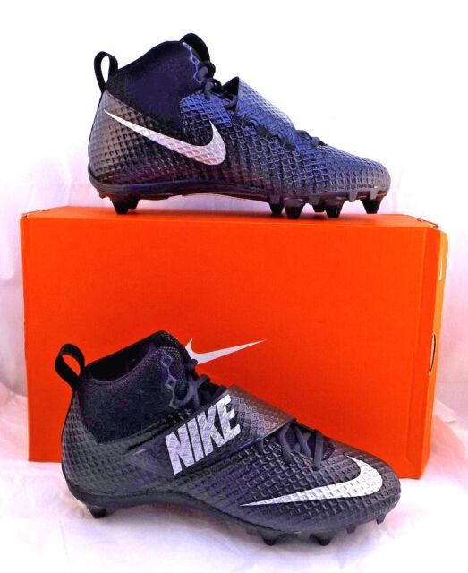 f0f1e490b New NIKE Lunarbeast Pro D Size 10 M Black Men s Football Cleats RETAIL  90