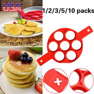 Nonstick Pancake Cooking Tool Egg Ring Maker Cheese Egg Cooker Pan Flip Egg Mold
