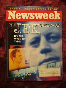 NEWSWEEK November 22 1993 JFK Assassination Cover-Up Bill Clinton NAFTA