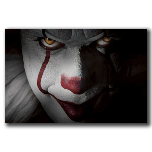 New It Movie Stephen King Custom Poster Print Art Decor T-886