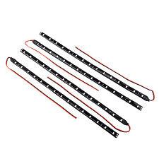 4 x 30 cm Wasserdicht 15 1210 SMD flexibel LED Streifen Licht Lampe Weiss DC 12V